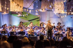 """A abertura do palco """"Arraial da Inezita Barroso"""", na Praça da República"""