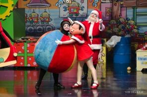 """Turma da Mônica em """"A Fábrica de Brinquedos do Papai Noel"""""""