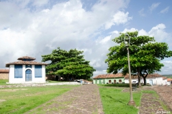 Praça da Cidade de Alcântara